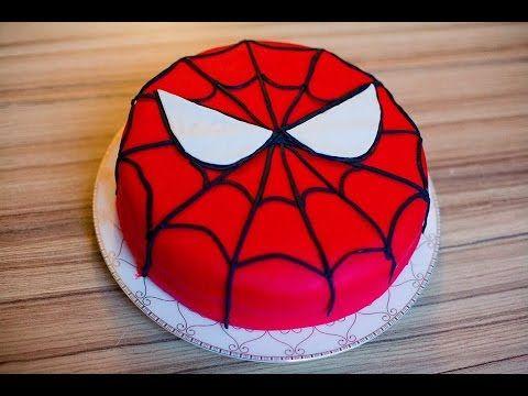 Tortun Marsipanla Bəzədilməsi Dis Tortu Marsipan Xəmiri Youtube Spiderman Superhero Character