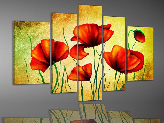 hand-painted free shipping stretched framed oil wall art by btfart