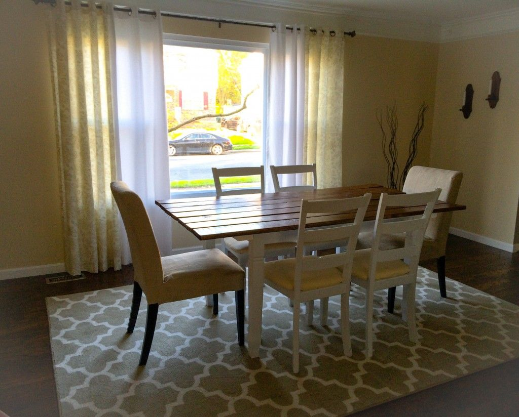 Like this simple, neutral dining room