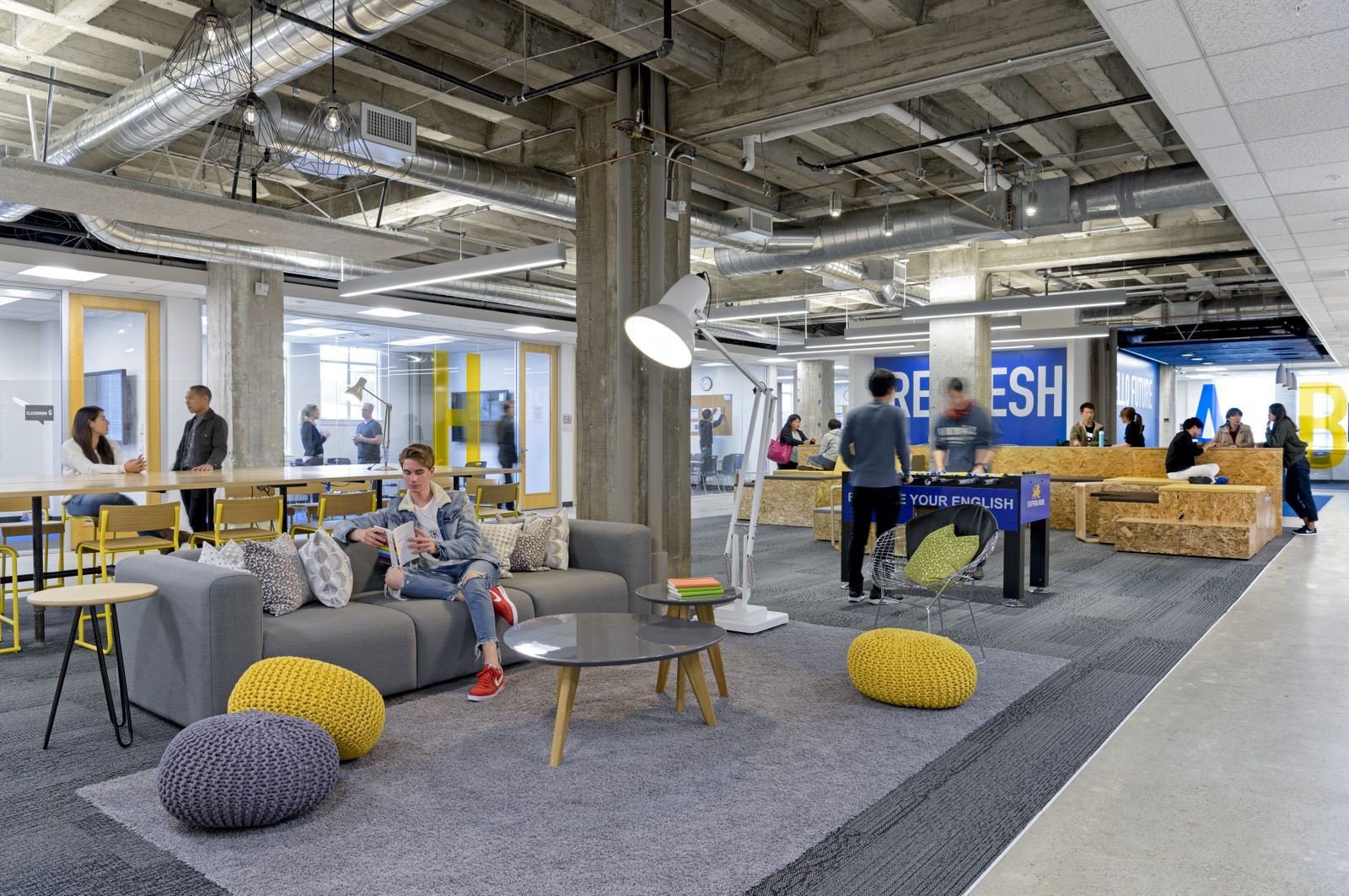 Breakout Space Lounge From Stafford House Offices San Francisco