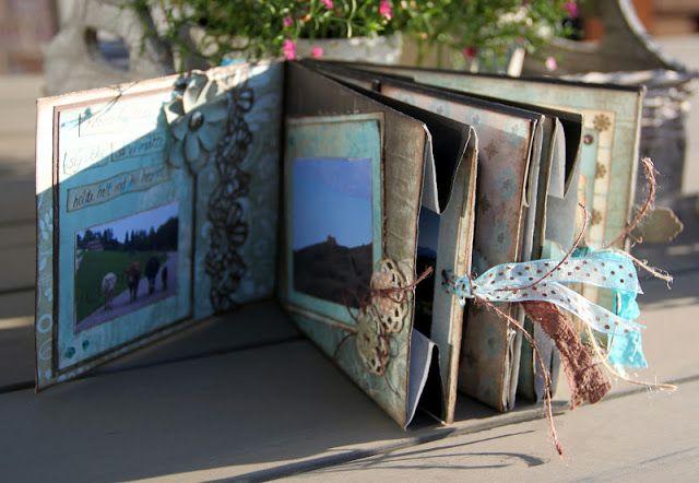 Jettes Scrapblog: DT Riddersholm Paper Bag Album