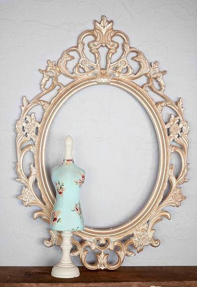 Frame Makeover Using Metallic Lustre Lolly Jane Projects