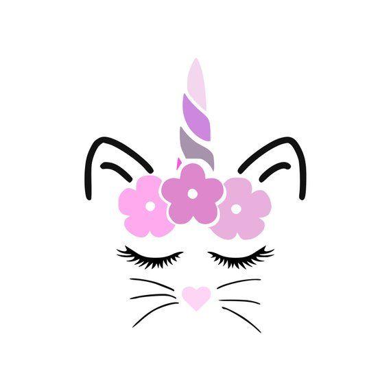 Unicorn Kitty Svg  – 258+ SVG PNG EPS DXF File