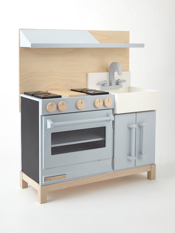 Classic Play Kitchen | Kids | Pinterest | Wooden play kitchen, Plays ...