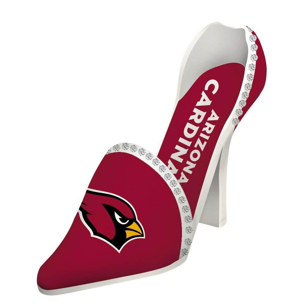 Arizona Cardinals High Heel Shoe Wine Bottle Holder Wine Bottle Holders Wine Shoes Cardinals