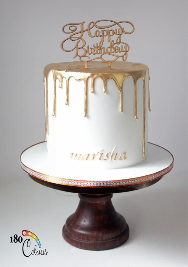 The Golden Drip By Joonie Tan Cakes Amp Cake Decorating
