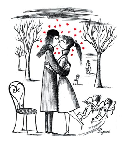 Peynet peynet les amoureux de peynet peynet et dessin - Dessin de coeur amoureux ...