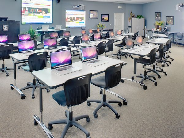Classroom Design Solutions ~ Computer lab solutions to learn more call today