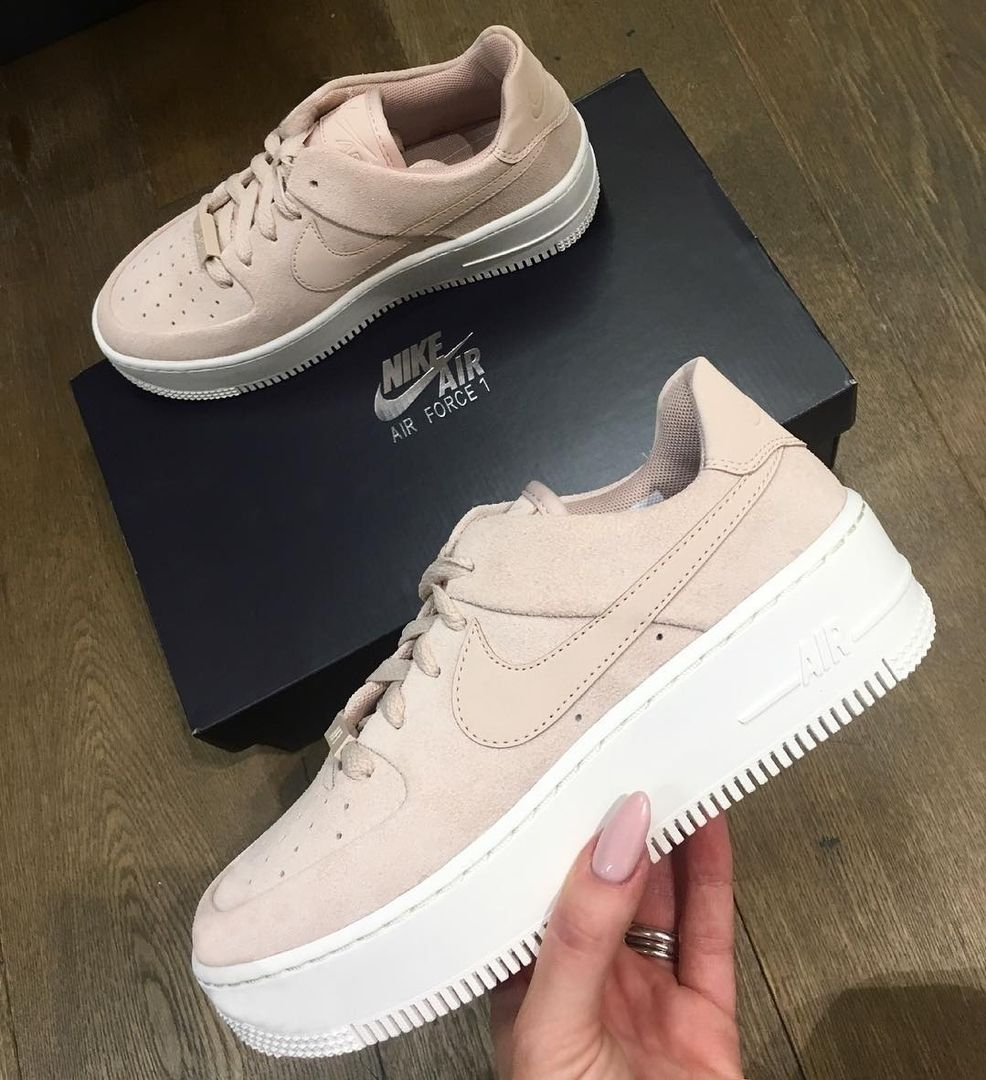air force 1 sage rosa