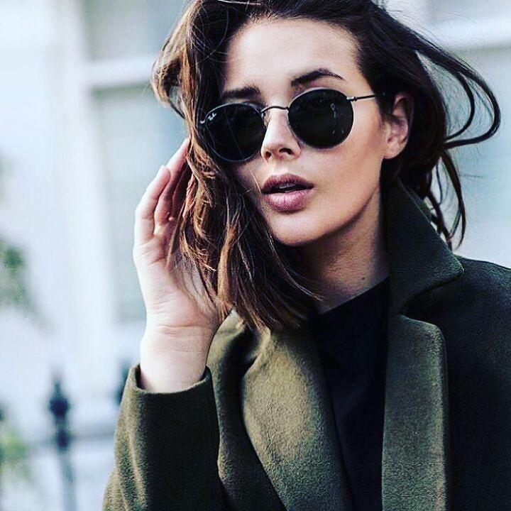 Foursunnies Sunglasses Gafas Para Mujer Lentes Negros Gafas De Moda