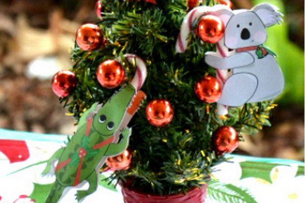 Fun Ideas For An Australian Themed Christmas Christmas Decorations Australian Australian Christmas Aussie Christmas