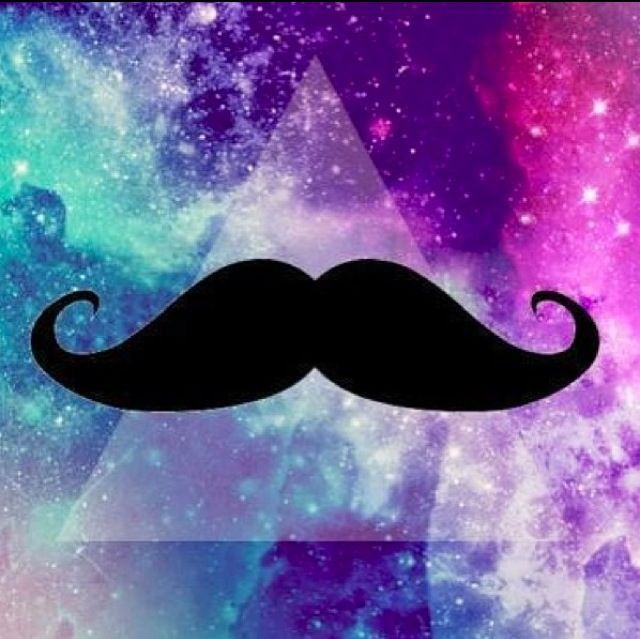 Love that b/c I love fashion and mustaches