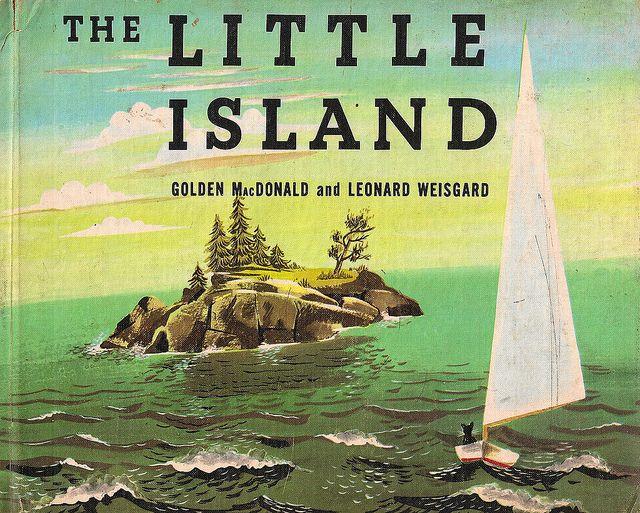 Vintage Children's Book, The Little Island by jill_m_casey, via Flickr