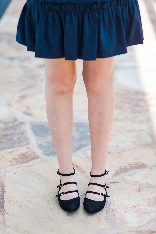 LC Lauren Conrad Women s Strappy Ballet Flats  83d16429913