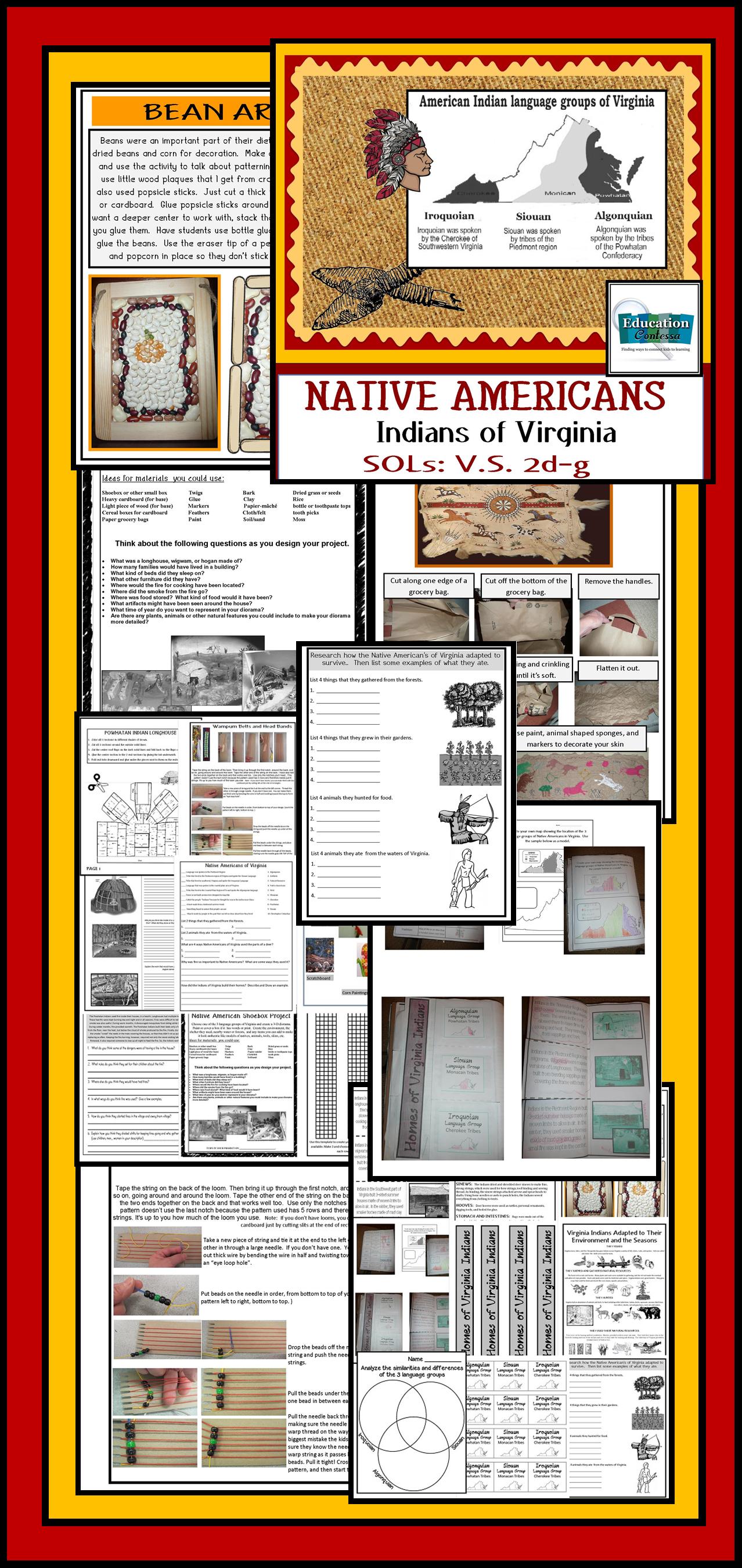 Native American Indians Of Virginia