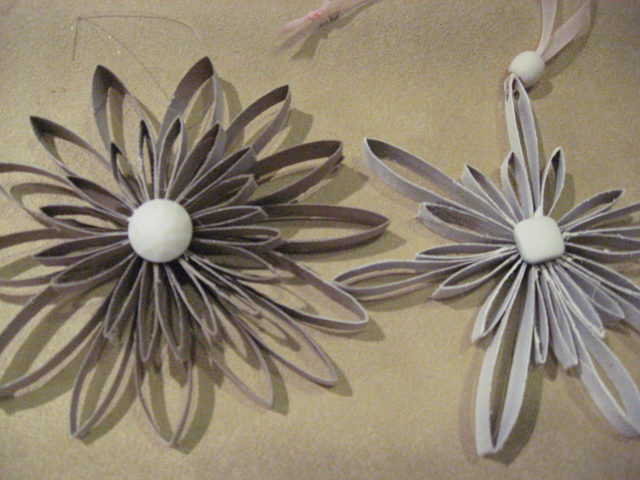 Toilet Paper Roll Snowflakes Uploaded By Sherry Curington