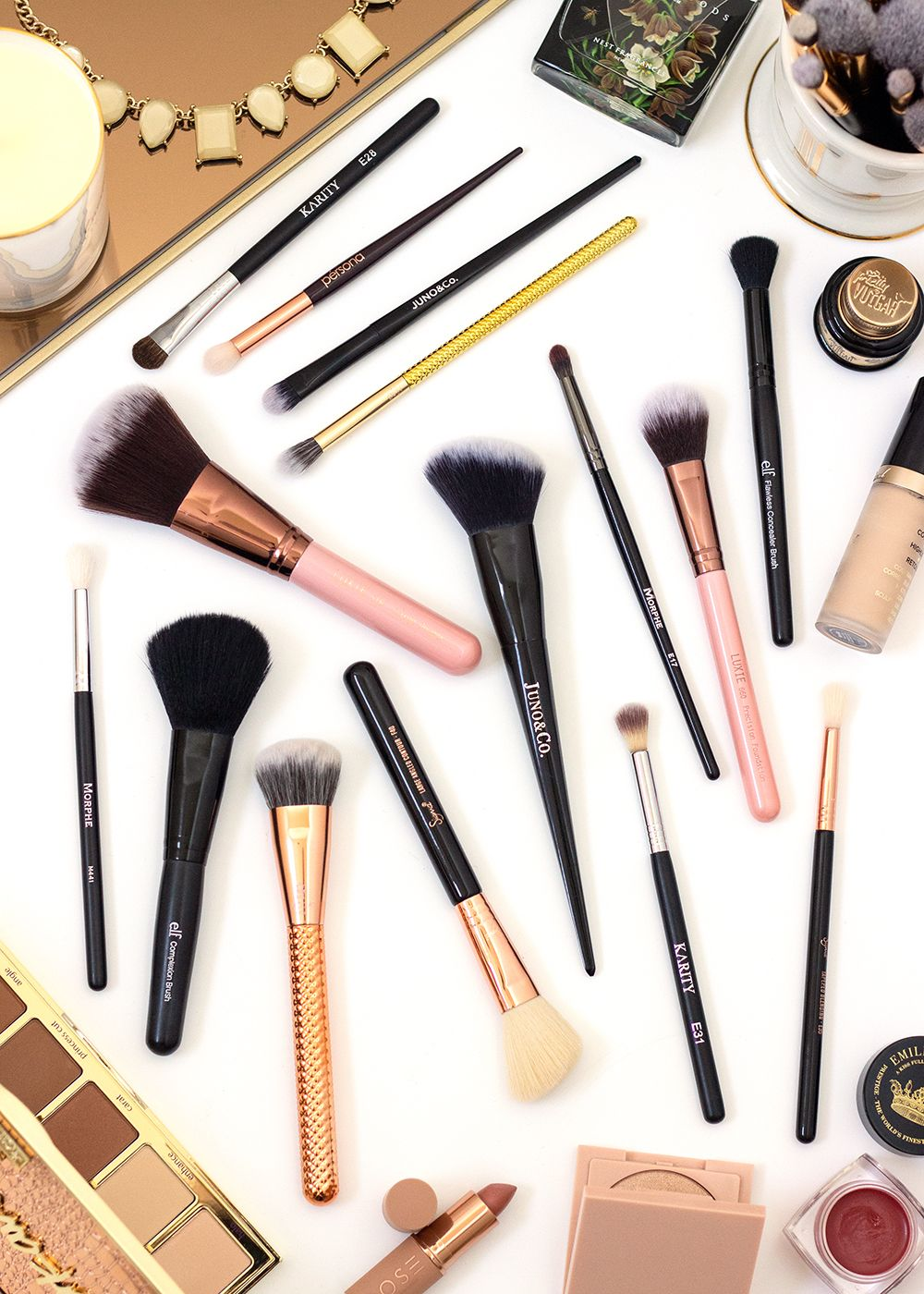 The Ultimate Guide to Makeup Brushes Makeup, Essential