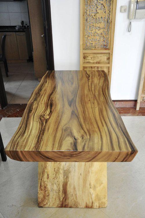 wood dining table x herman furniture singapore carpintería