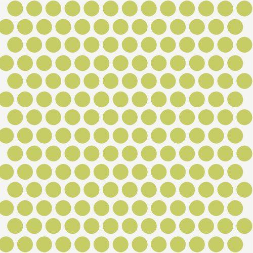 Birch MOD BASICS Dottie Color Grass Organic by CedarHouseFabrics, $16.50