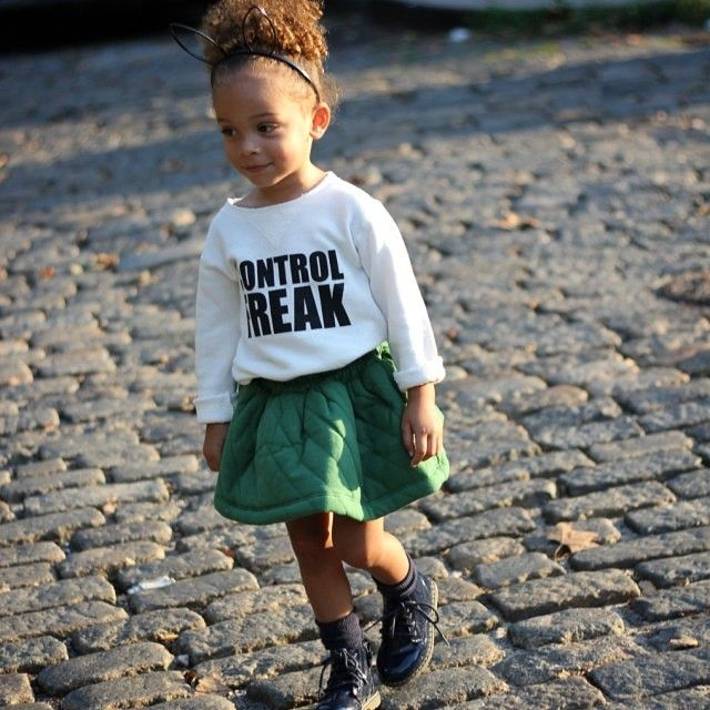 "Morning! New #blogpost ""control freak"" featuring this gorgeous #omamimini skirt from @minoukids  SCOUTTHECITY.com"