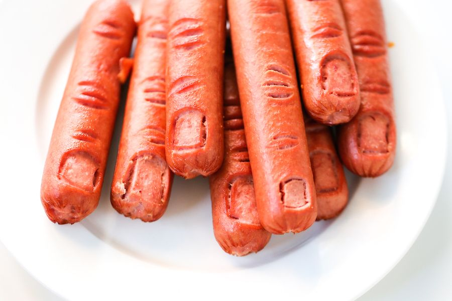 Halloween Bloody Severed Finger Hot Dogs Gross Halloween Food Finger Food Halloween Party Food Salty Canary