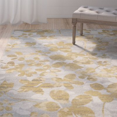 Montelimar Gray Gold Area Rug