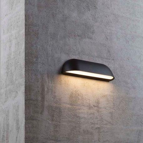 Lampe extérieur Luminaire Front IP44 L26 cm LED Noir