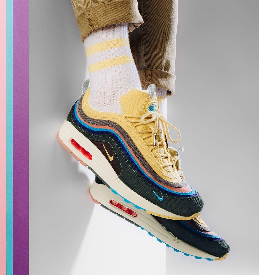 Air Max 97 1 Hybrid Sean Wotherspoon Sneakers Nike Air Max Mens Nike Shoes Nike Air Max