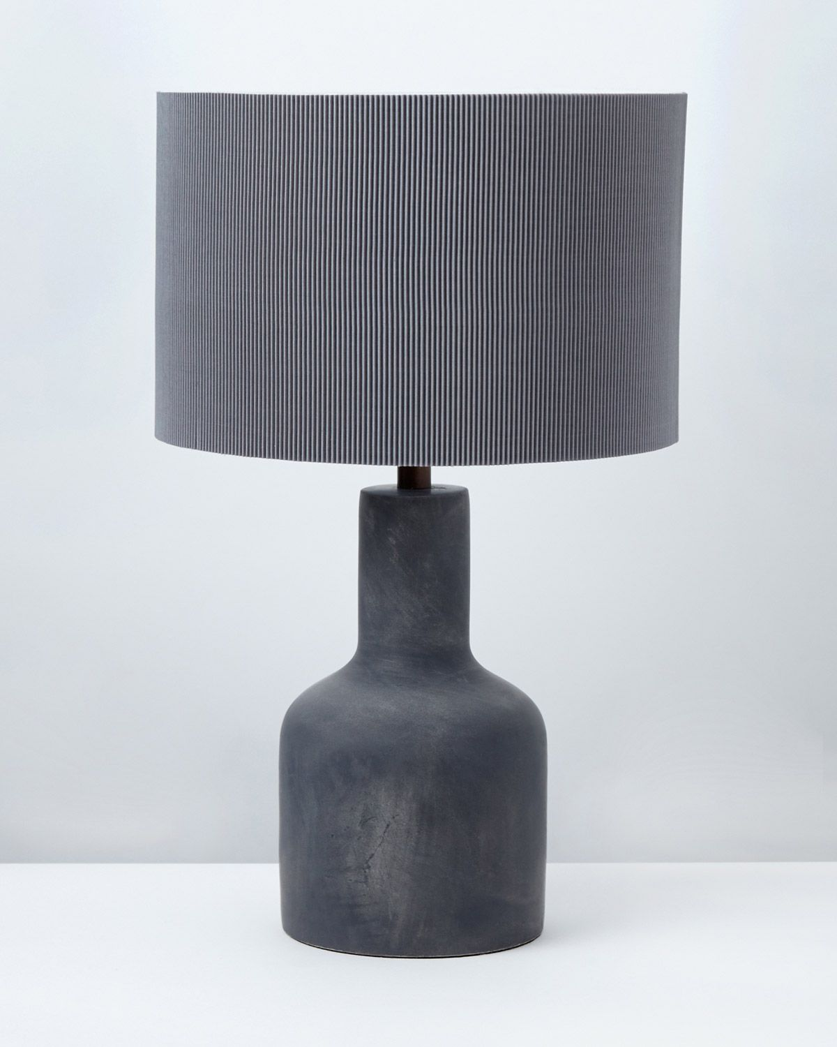 Carolyn Donnelly Eclectic Cement Table Lamp Table lamp