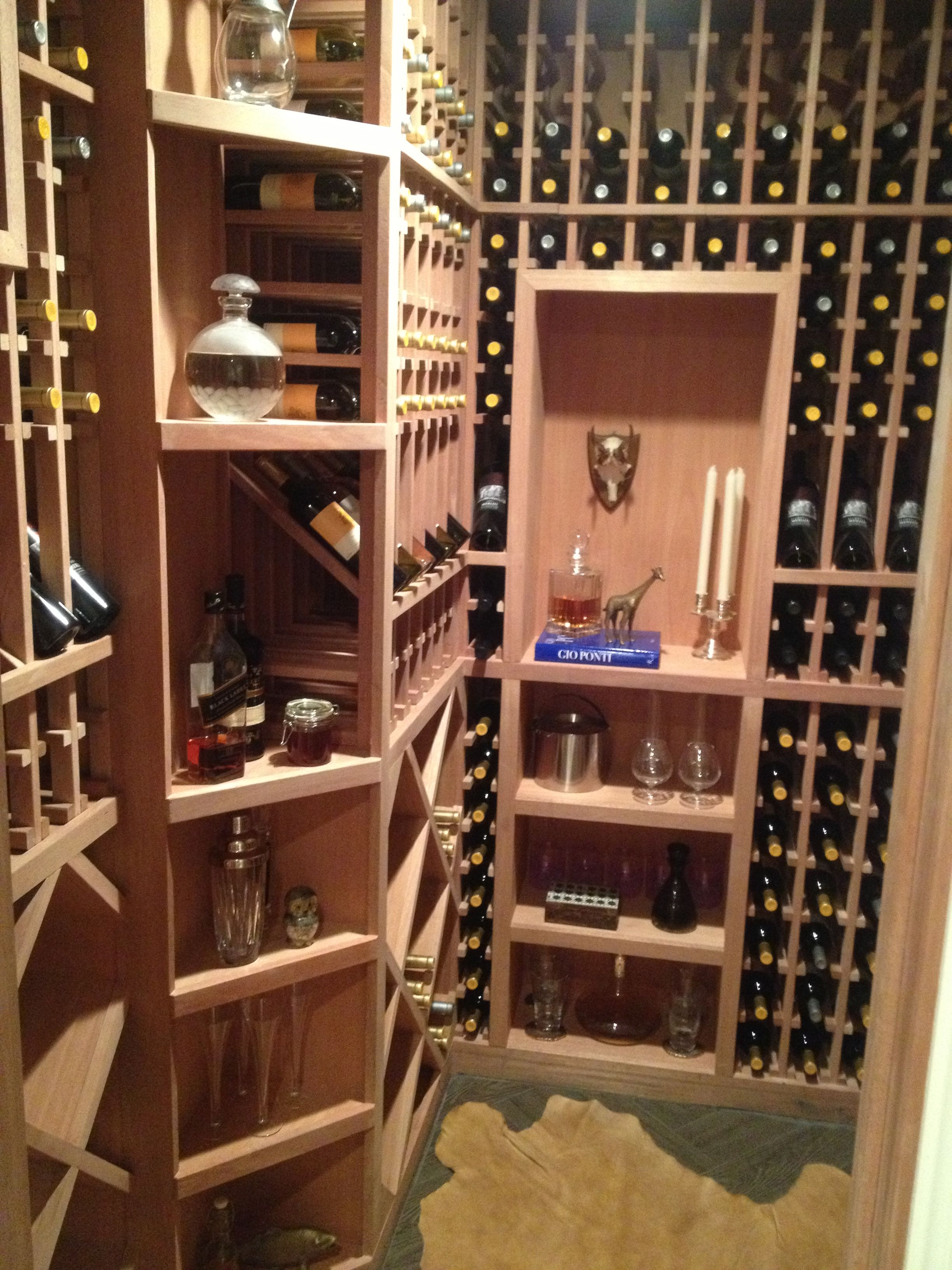 Wine Cellar With Wine Provided By Wolffer Estate Vineyard And Stables,  Accessories By Gracious Home, John Salibello And The Silver Peacock,  Leatheru2026