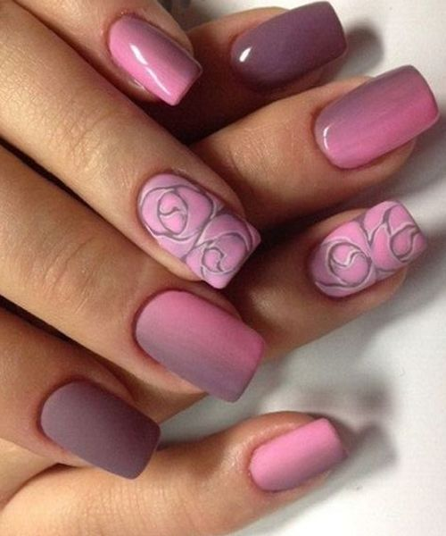 12 Most Romantic Nail Art Designs For Prom Hair And Beauty