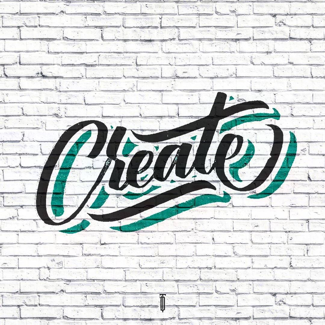 Lettering Design Graphic