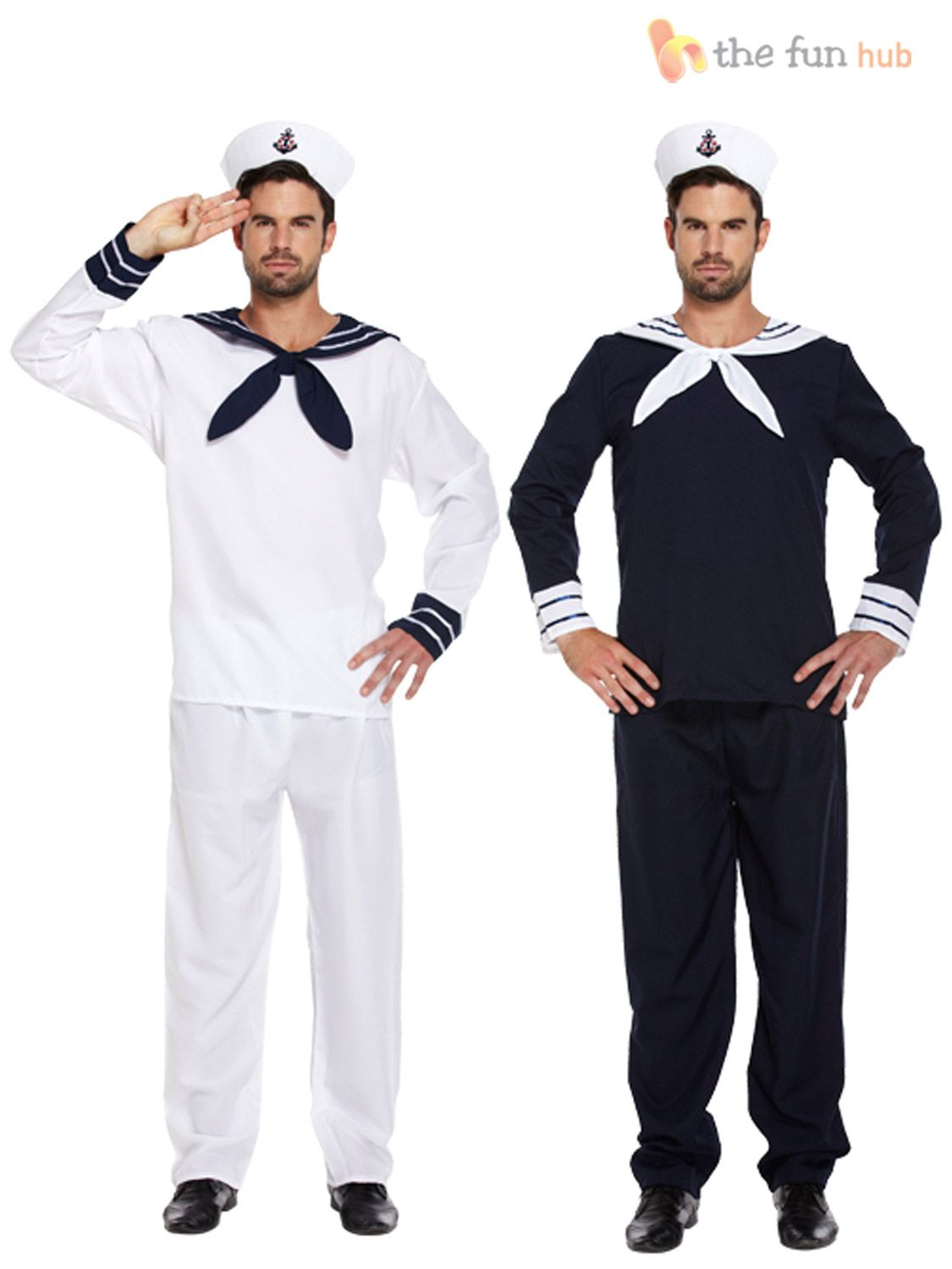 Kids Sailor Costume Marine Dress Blue
