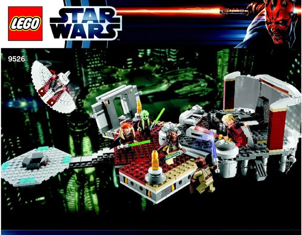 Star Wars Episode 3 Palpatines Arrest Lego 9526 Lego Sets Of