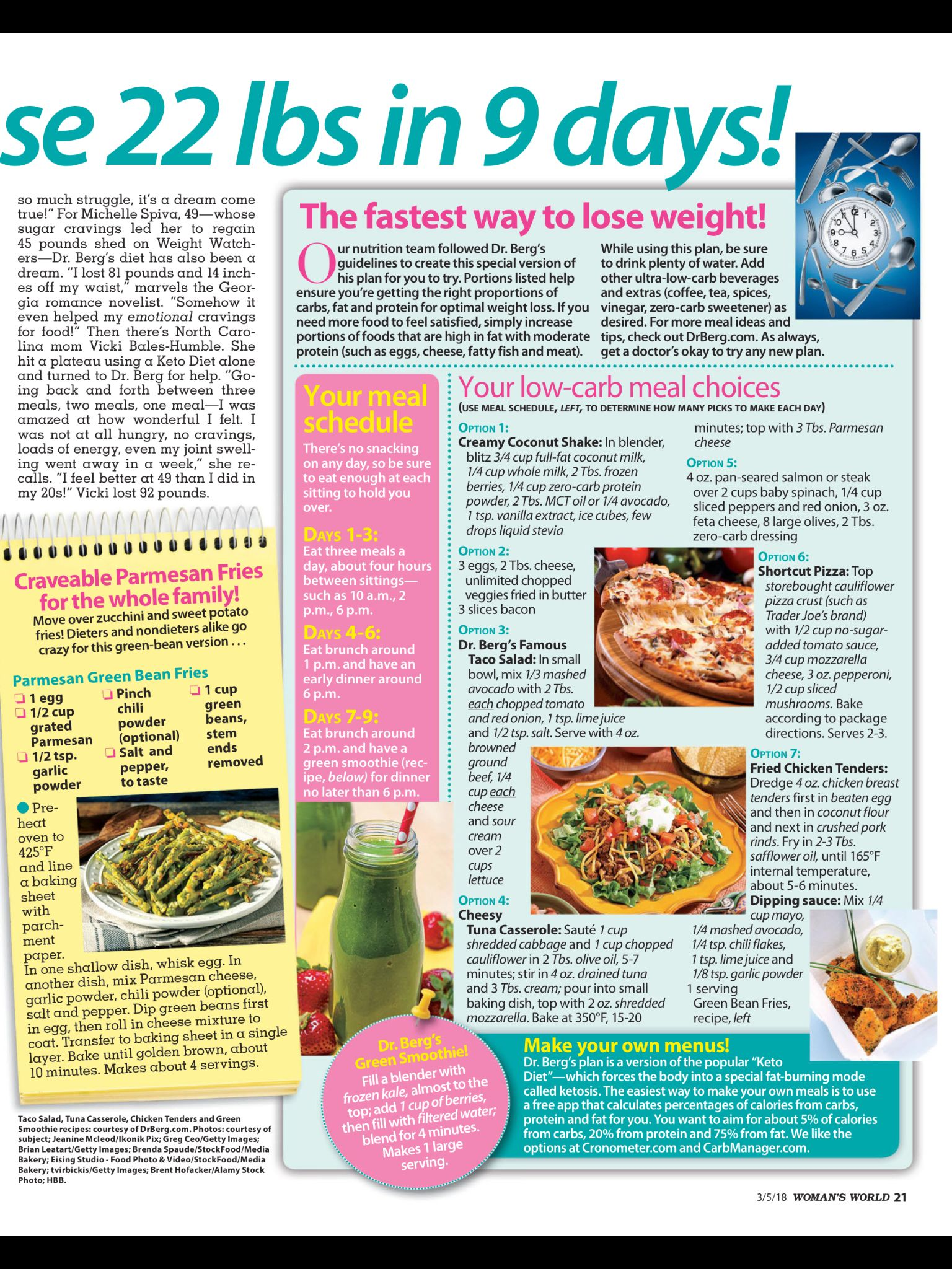 turbo keto diet womans world magazine