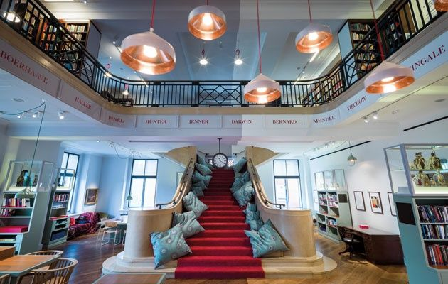 Opening Later This Month The London Institutions Wondrous New Library By Architecture And Design Practice AOC Combines Spirit Of Open Access Wit