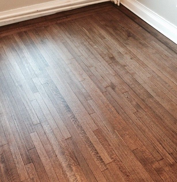 Provincial Stain Water Based Poly On White Oak White
