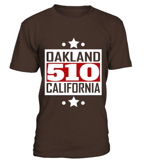 Oakland California Area Code Patriotic Vintage Tshirt - 510 area code