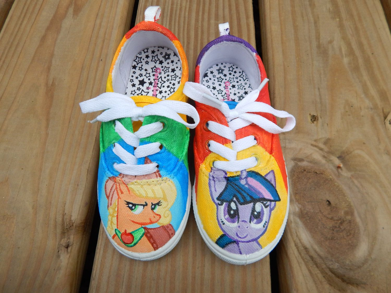 181144a6955 Hand painted shoes little pony solebliss infant youth toddler canvas toms  vans converse solebliss on etsy