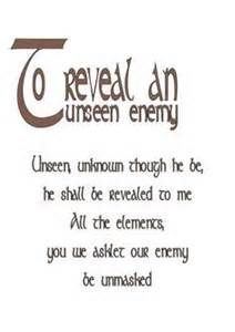 To reveal an unseen enemy #CroweFeatherWitchDownunder