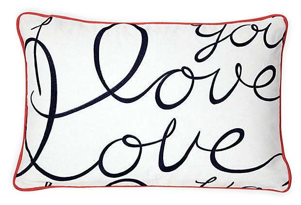Custom Lulu DK Pillow on OneKingsLane.com