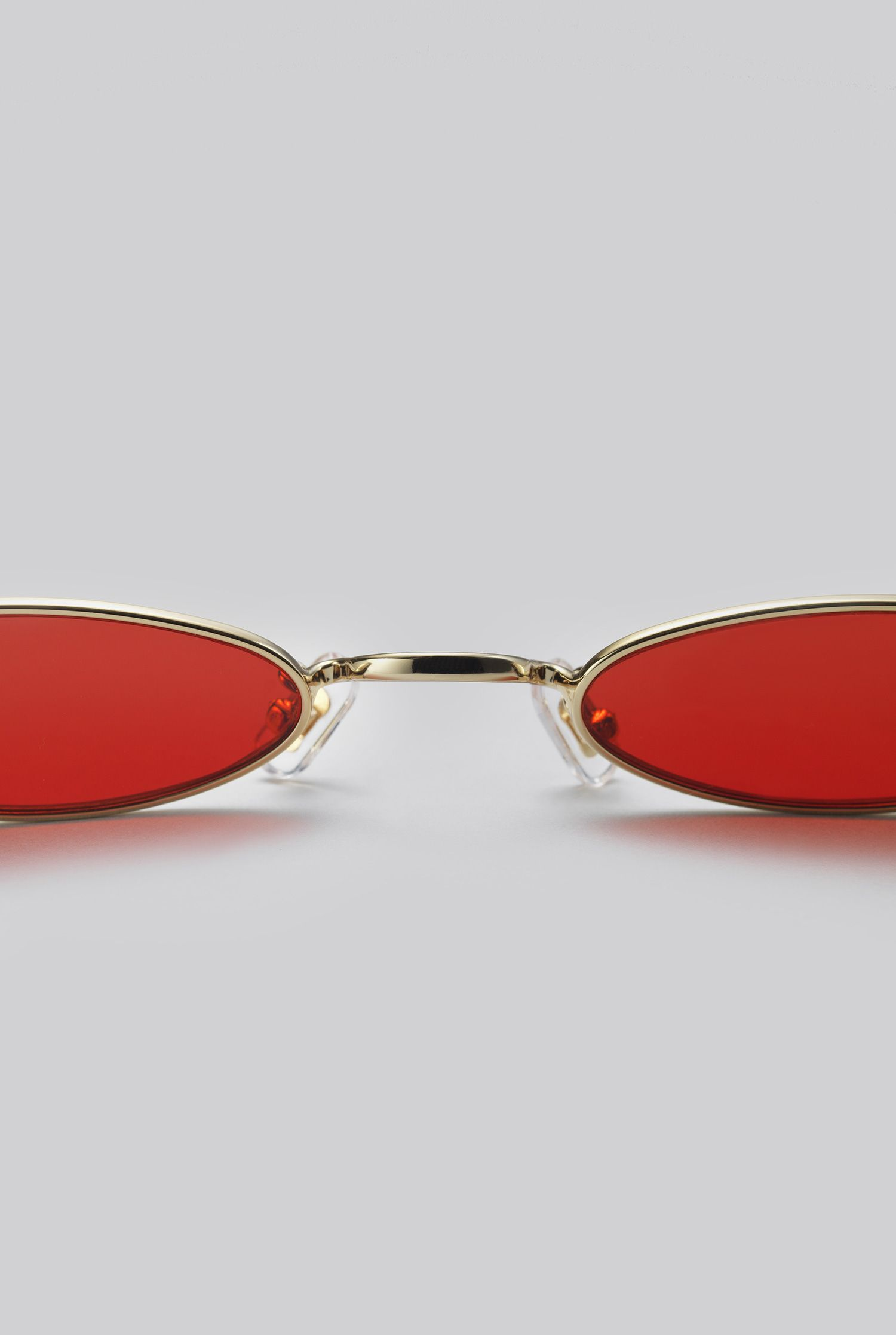 c7c0bc0682 GENTLE MONSTER 2018 Sunglasses VECTOR 03(RED) Stainless and monel frame in  gold