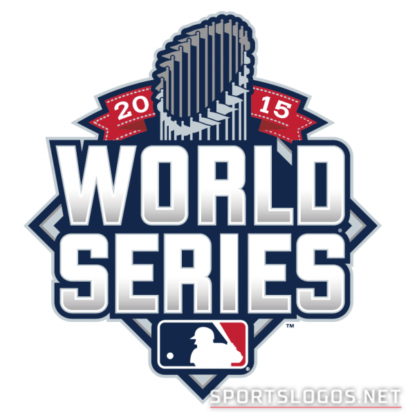 2015 World Series Logo Mlb World Series Baseball World Series World Series