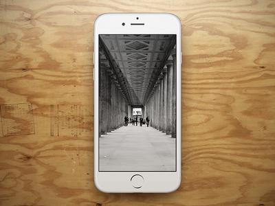 free showcase psd iphone 6 white iphone mockup and ios design