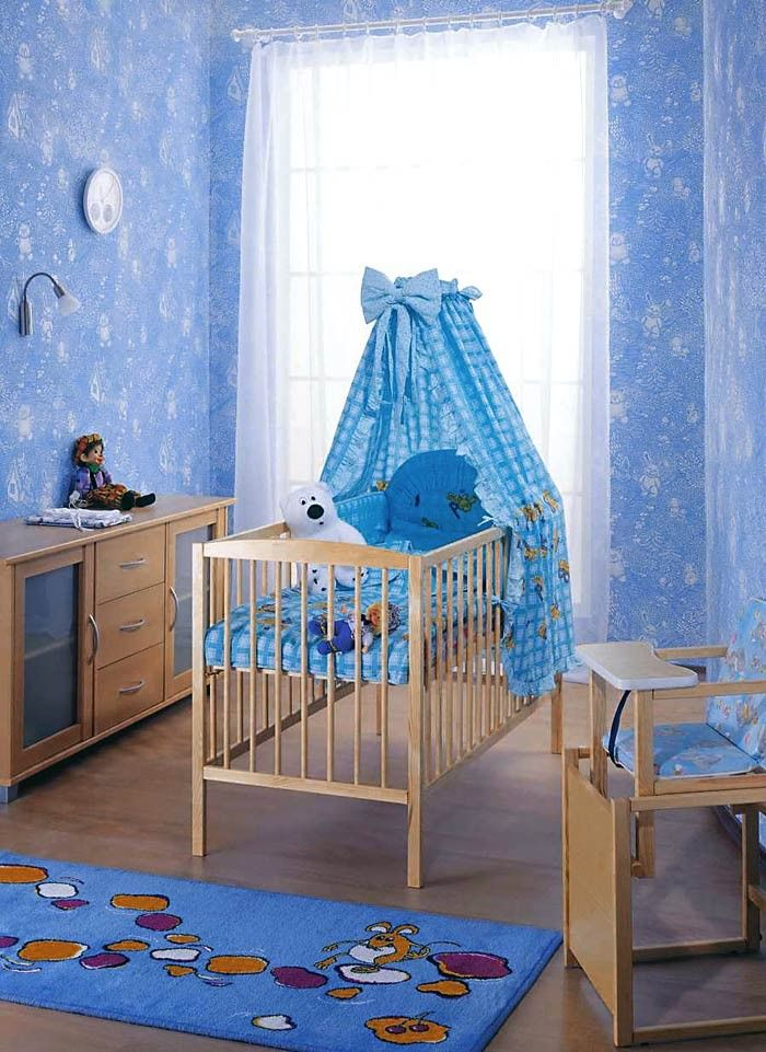 Tapeten Muster EDEM 361-60Kinder-Zimmer Märchen Vlies-Tapete überstreichbar