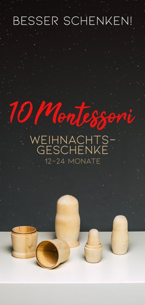 Montessori Geschenke 10 Ideen ab 1 Jahr | The Krauts