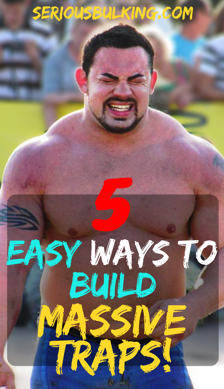 5 Easy Ways to Build Massive Traps Now! #trapsworkout