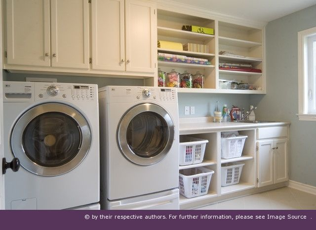 Cool Laundry Room Storage Ideas: Compact Laundry Room Storage Decorating  Ideas
