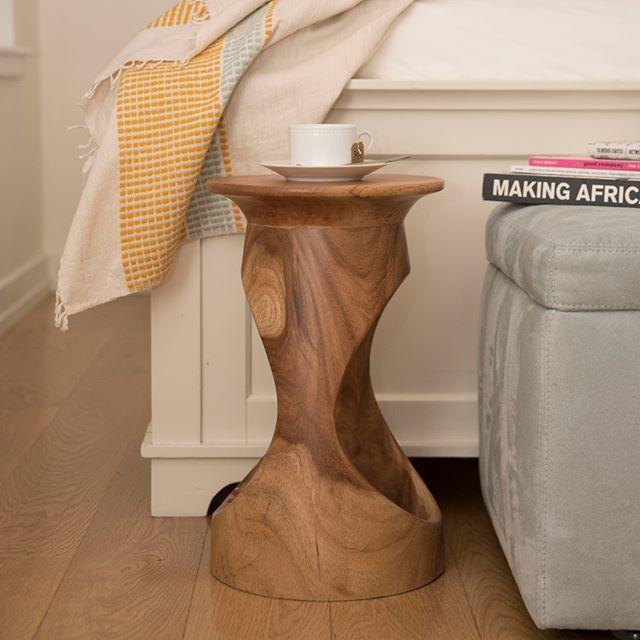 Modern Contemporaryhome Design: The Natural Finish Of @tekura_designs Djembe Table Works