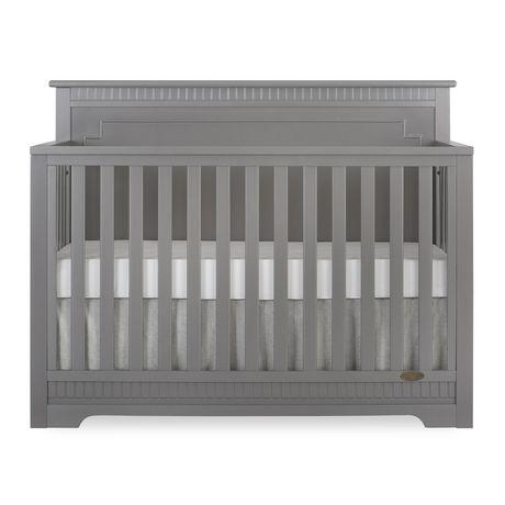 Dream On Me Morgan 5 In 1 Convertible Crib Gray Convertible Crib Cribs